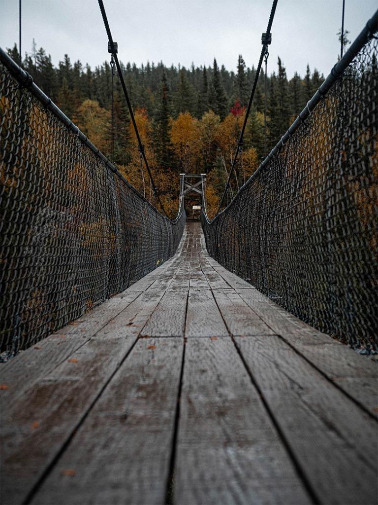 Over river Bridge