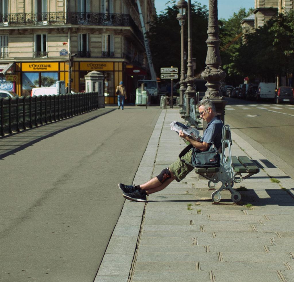 Paris newspaper